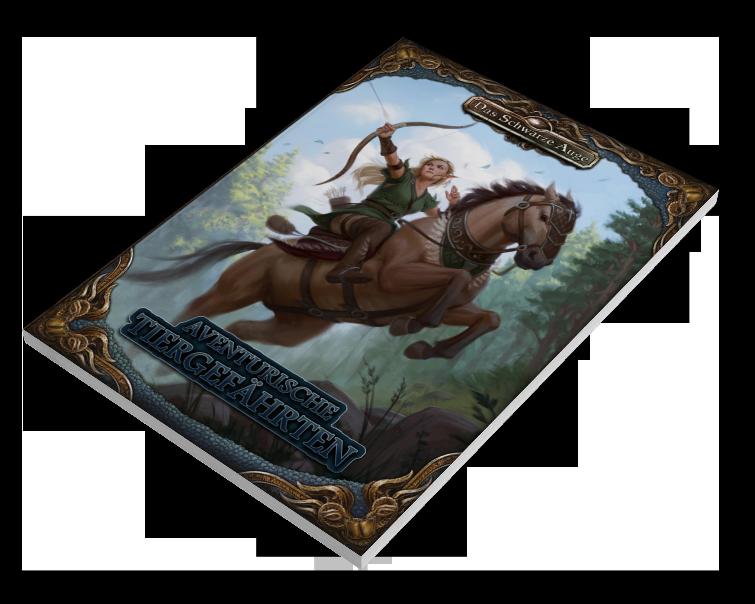 Aventurische Tiergefährten – Taschenbuch