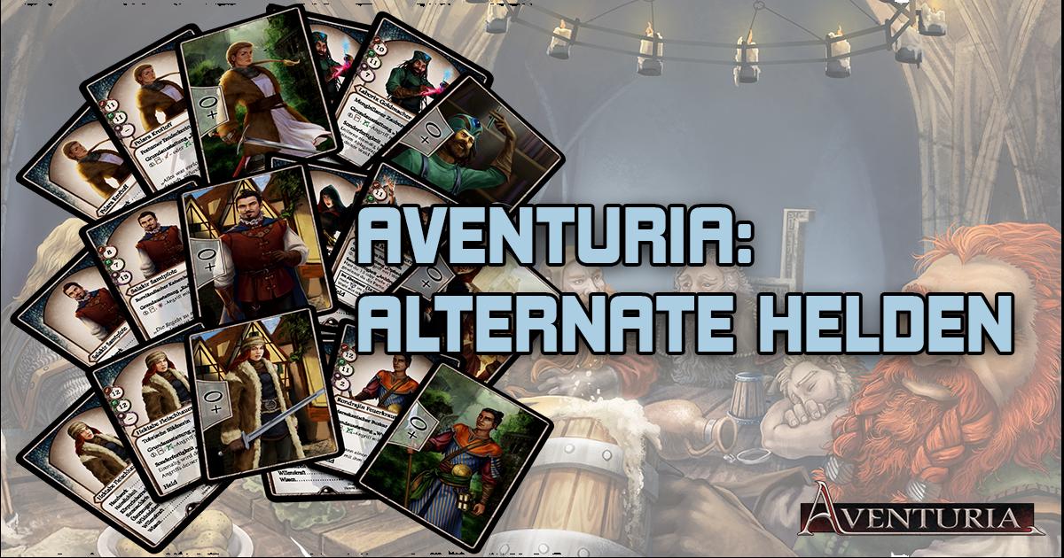 Aventuria: Alternative Helden Promopacks