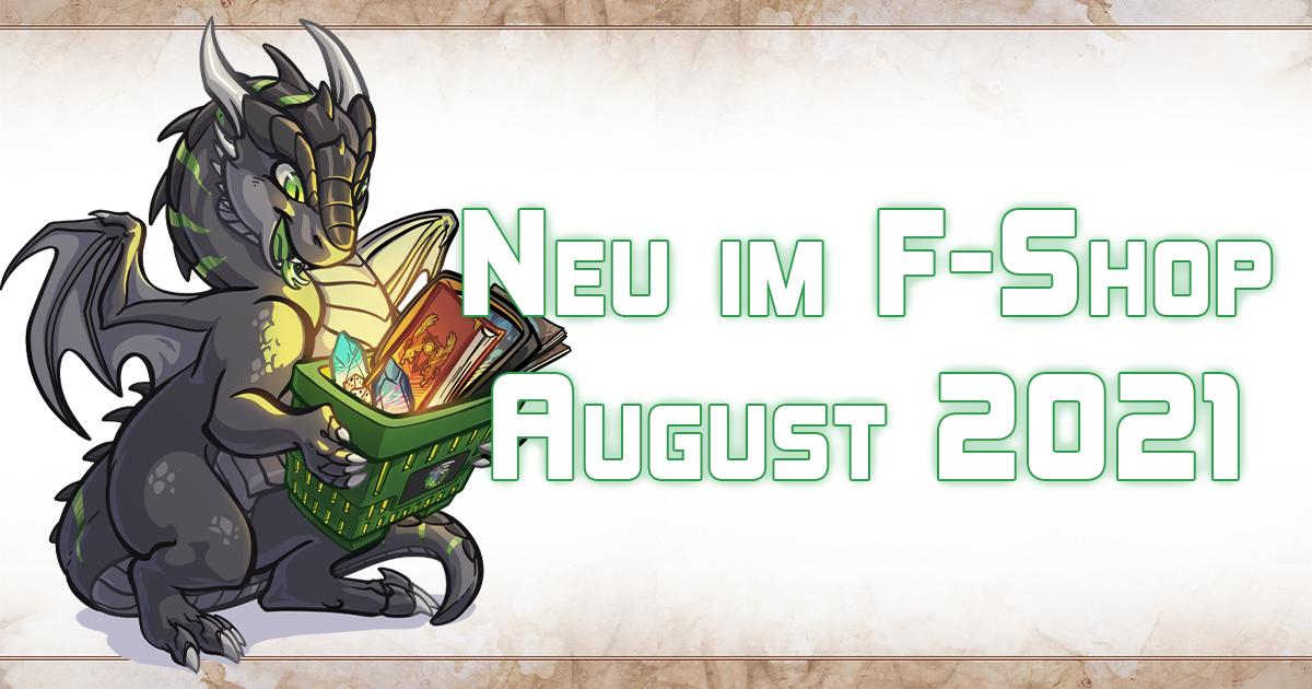 F-Shop-News: August 2021