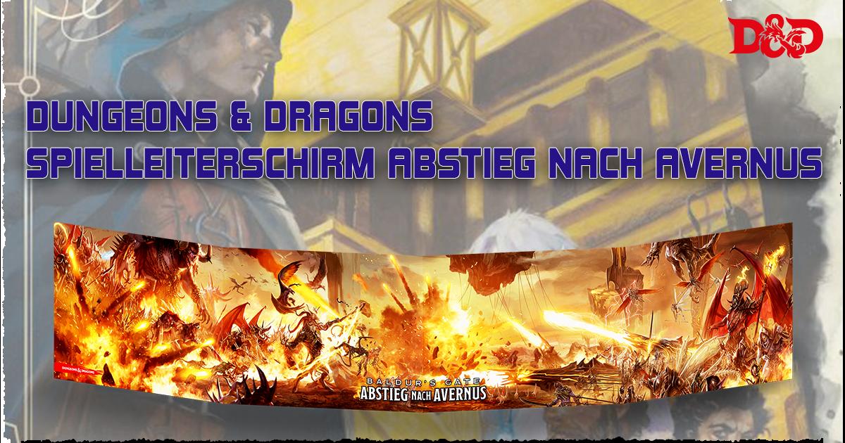 Dungeons & Dragons: Spielleiterschirm — Abstieg nach Avernus
