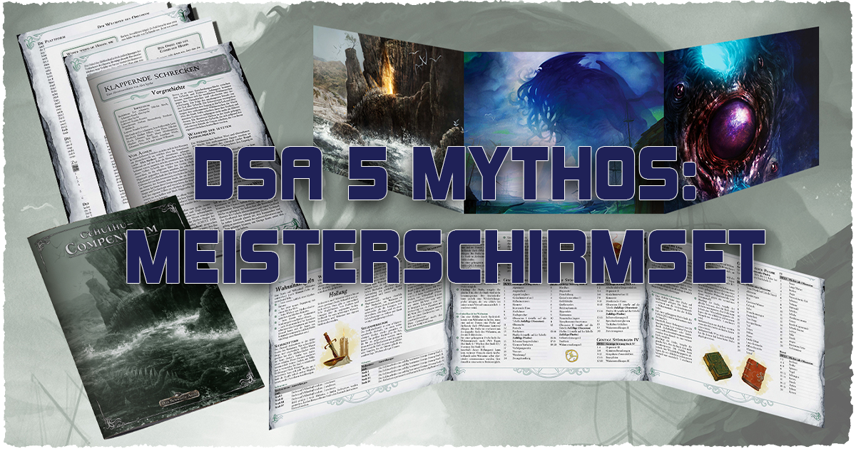 DSA 5 Mythos – Meisterschirmset