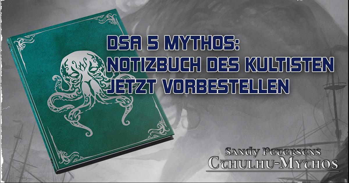 DSA 5 Mythos: Notizbuch des Kultisten