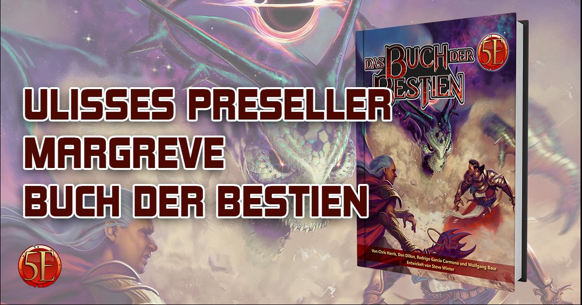 Ulisses PreSeller — Geschichten aus dem alten Margreve: Das Buch der Bestien