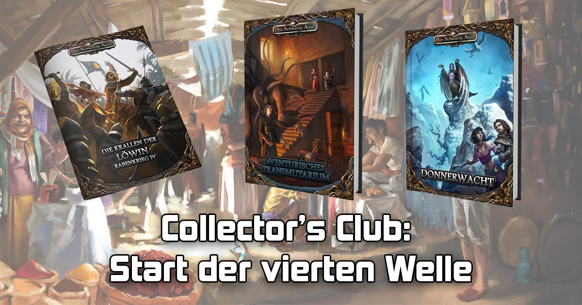 Collector's Club: Start der vierten Welle