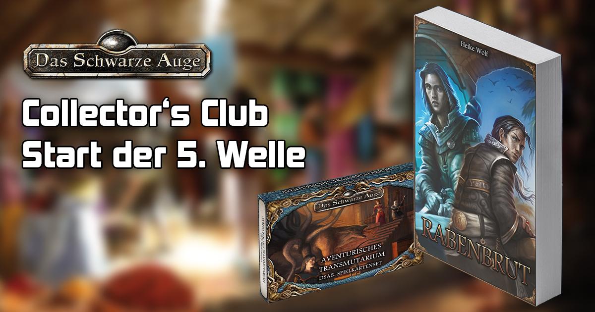 Collector's Club: Start der fünften Welle