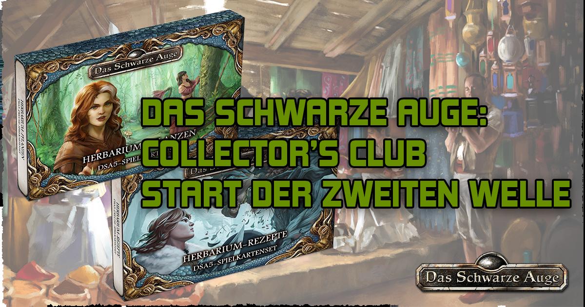 Collector's Club: Start der zweiten Welle