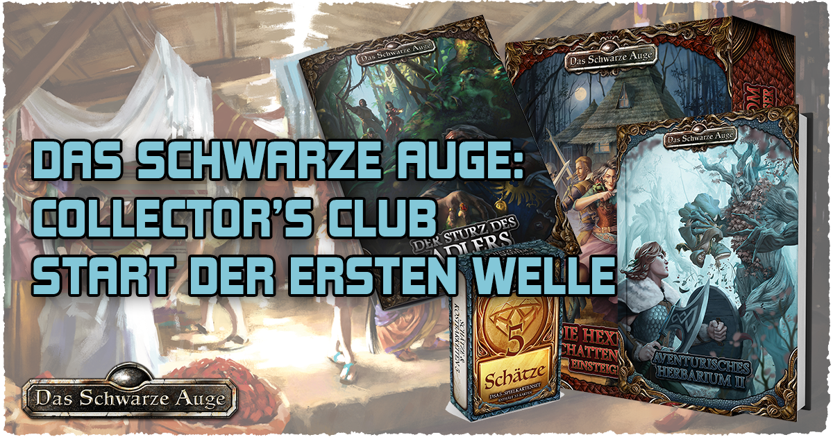 Collector's Club: Start der ersten Welle