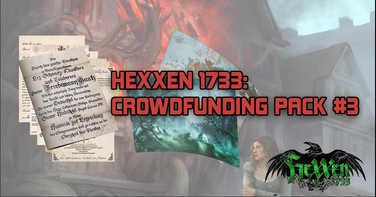HeXXen 1733: Crowdfunding Pack #3 — Deutsche Lande