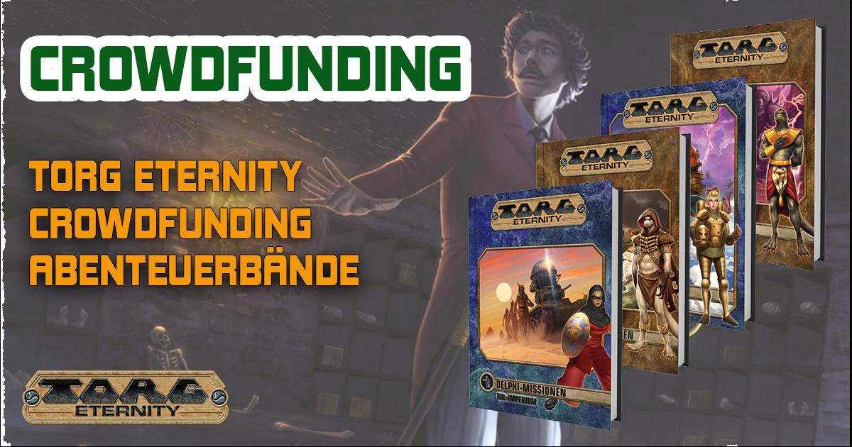 Ulisses Crowdfunding — Torg Eternity Abenteuerbände