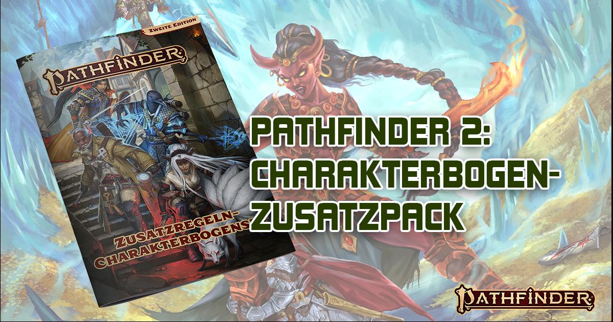 Pathfinder 2: Charakterbogenpack