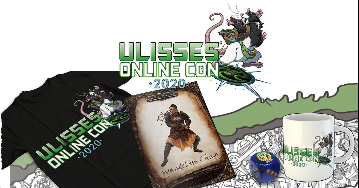 Ulisses Online Con 2020 — Das Conpaket
