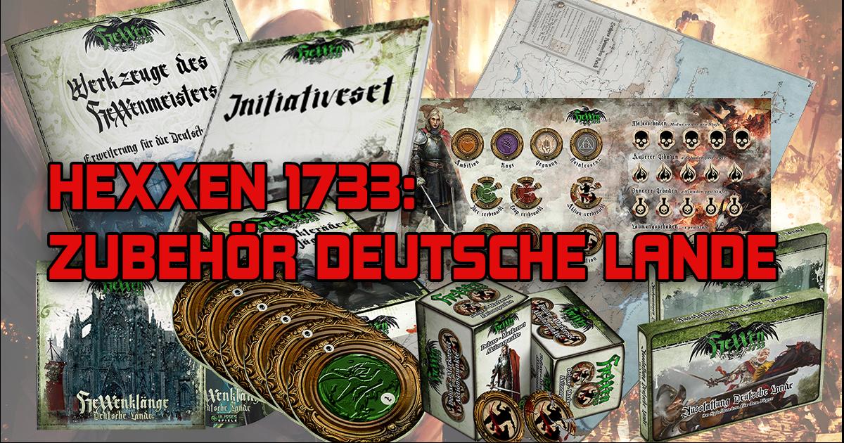 HeXXen 1733: Die Deutschen Lande — Zubehör