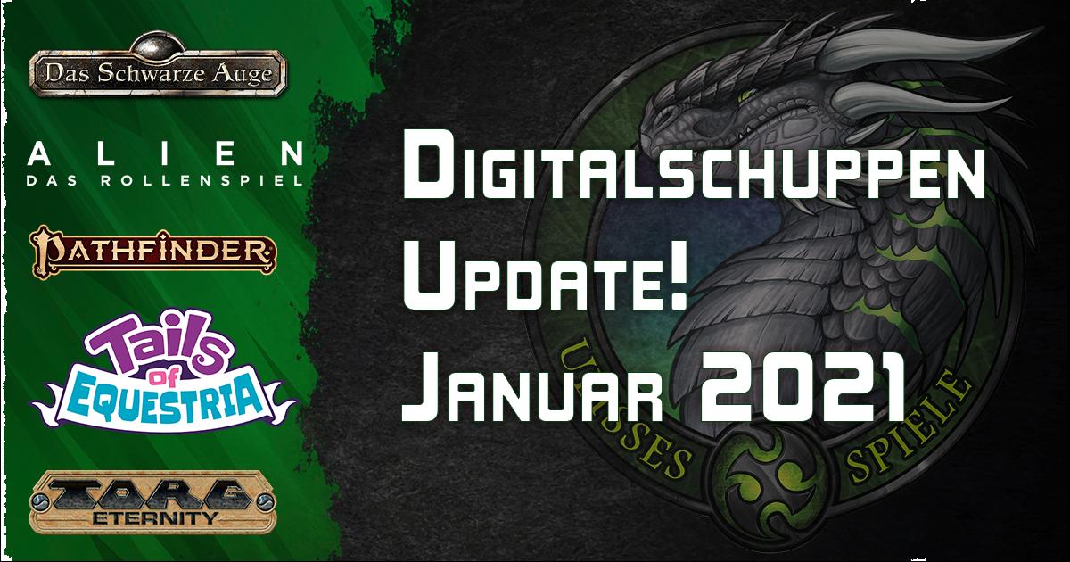 Neu im Digitalschuppen – Januar 2021