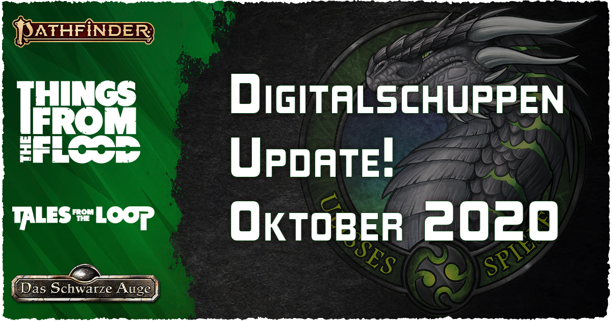 Neu im Digitalschuppen – Oktober 2020