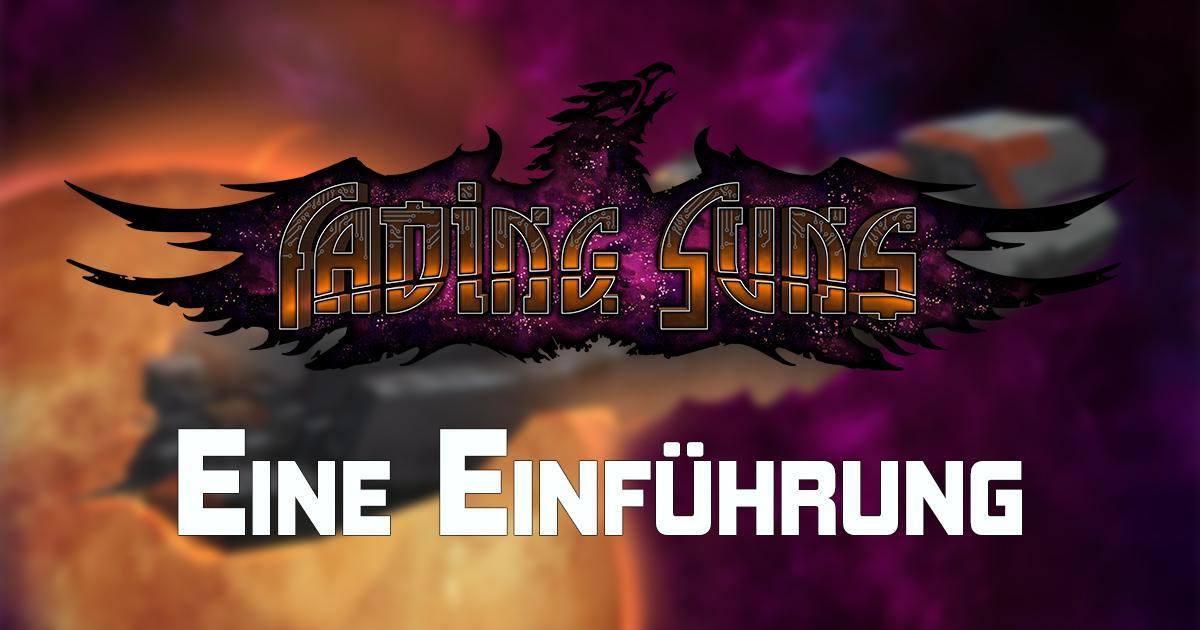 Fading Suns: Holt euch jetzt die Einführung