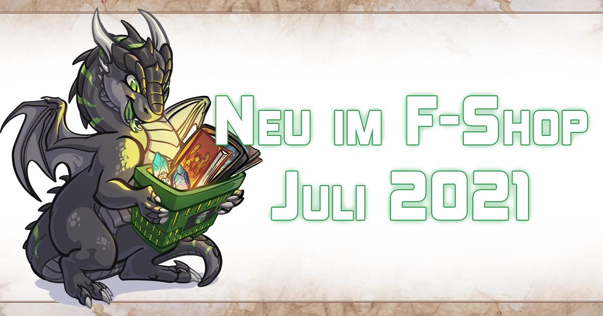 F-Shop-News: Juli 2021