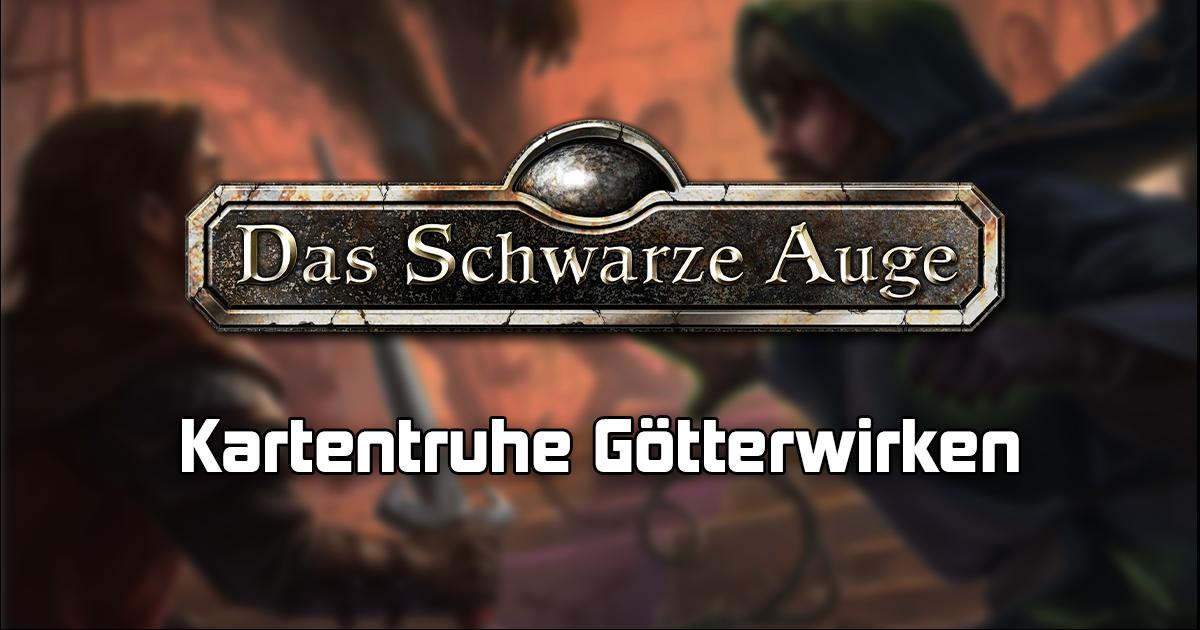 Aventuria: Kartentruhe Götterwirken