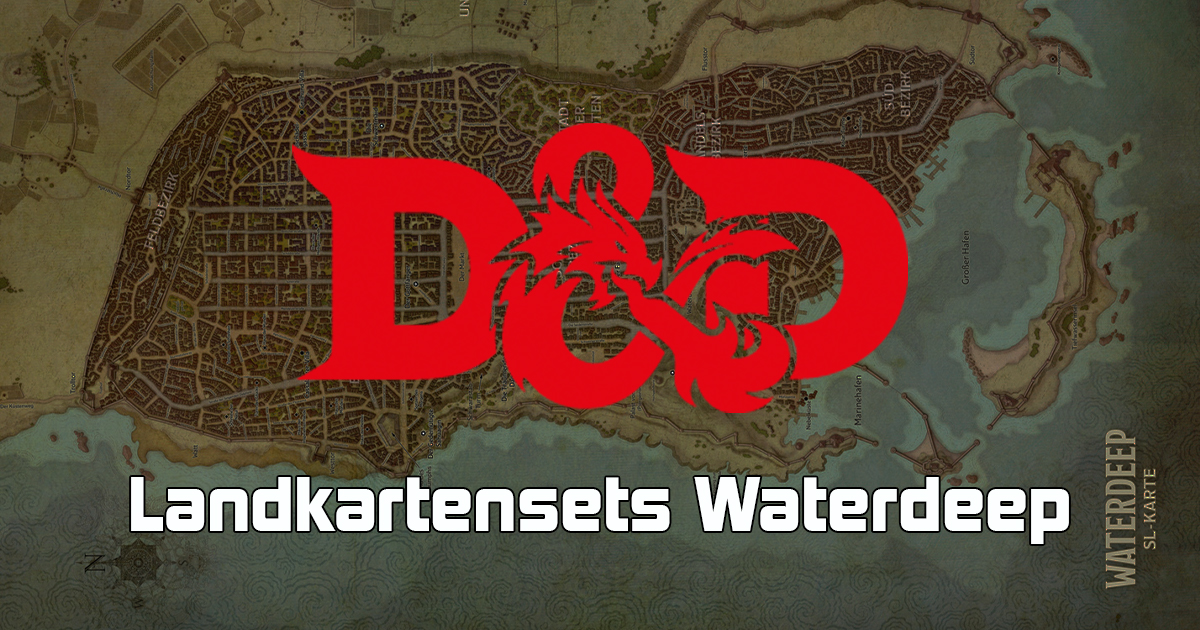 Dungeons & Dragons: Landkartenset Waterdeep