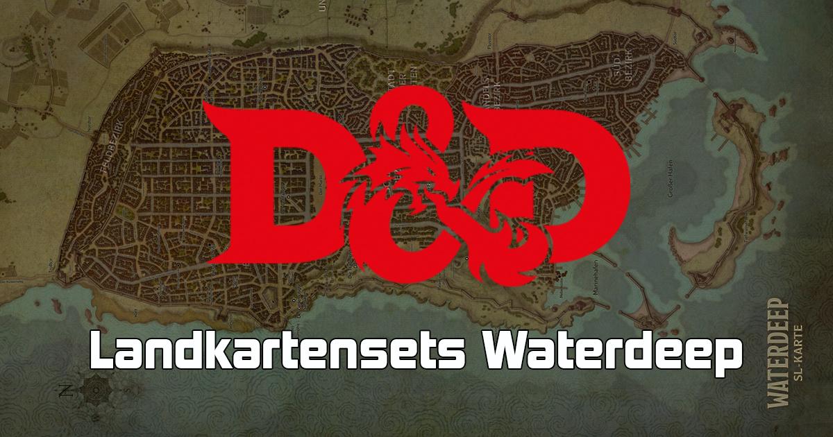 Dungeons & Dragons: Landkartenset Waterdeep