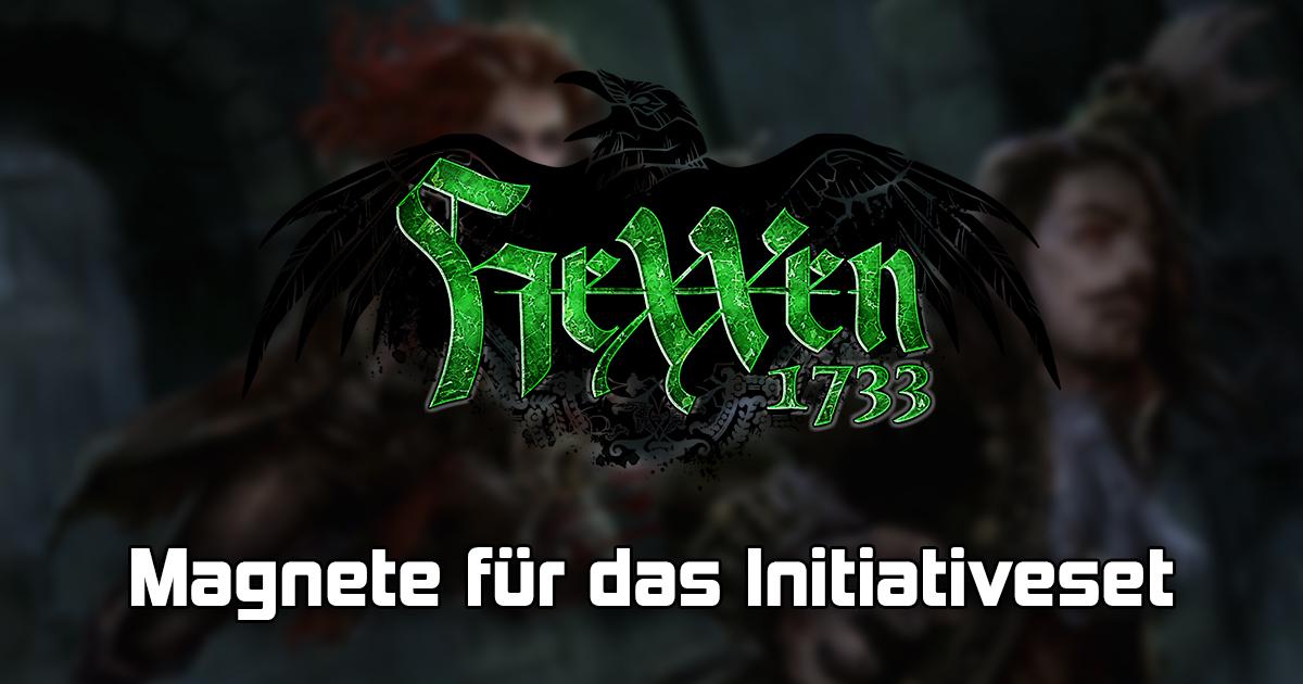 HeXXen 1733: Zusatzmagnete für das Initiativeset