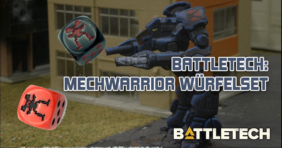 Battletech: Mechwarrior Würfelset