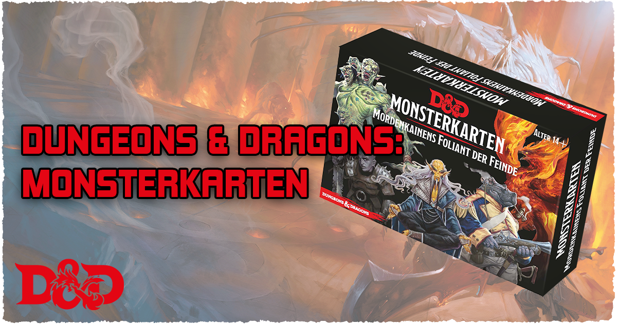 Dungeons and Dragons: Monsterkarten – Mordenkainens Foliant der Feinde