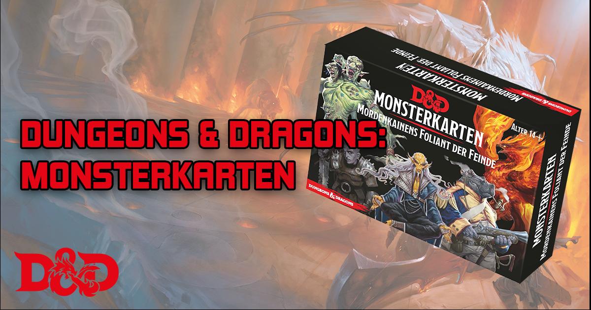 Dungeons and Dragons: Monsterkarten – Mordenkainens Foliant der Feinde