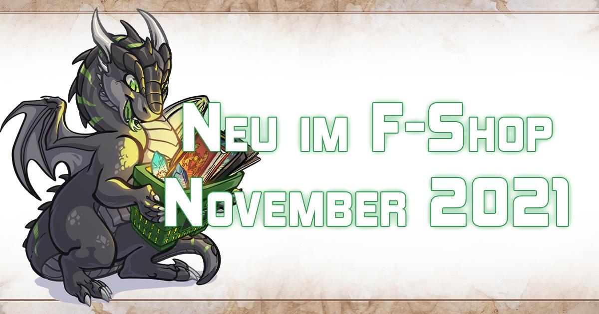 F-Shop Neuheiten November 2021