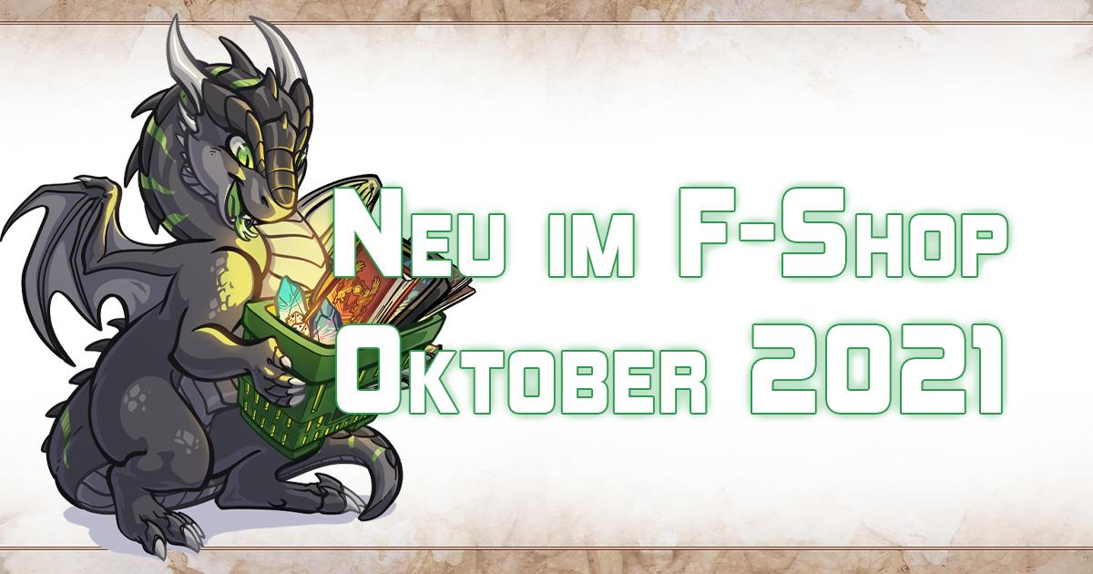 F-Shop-News: Oktober 2021