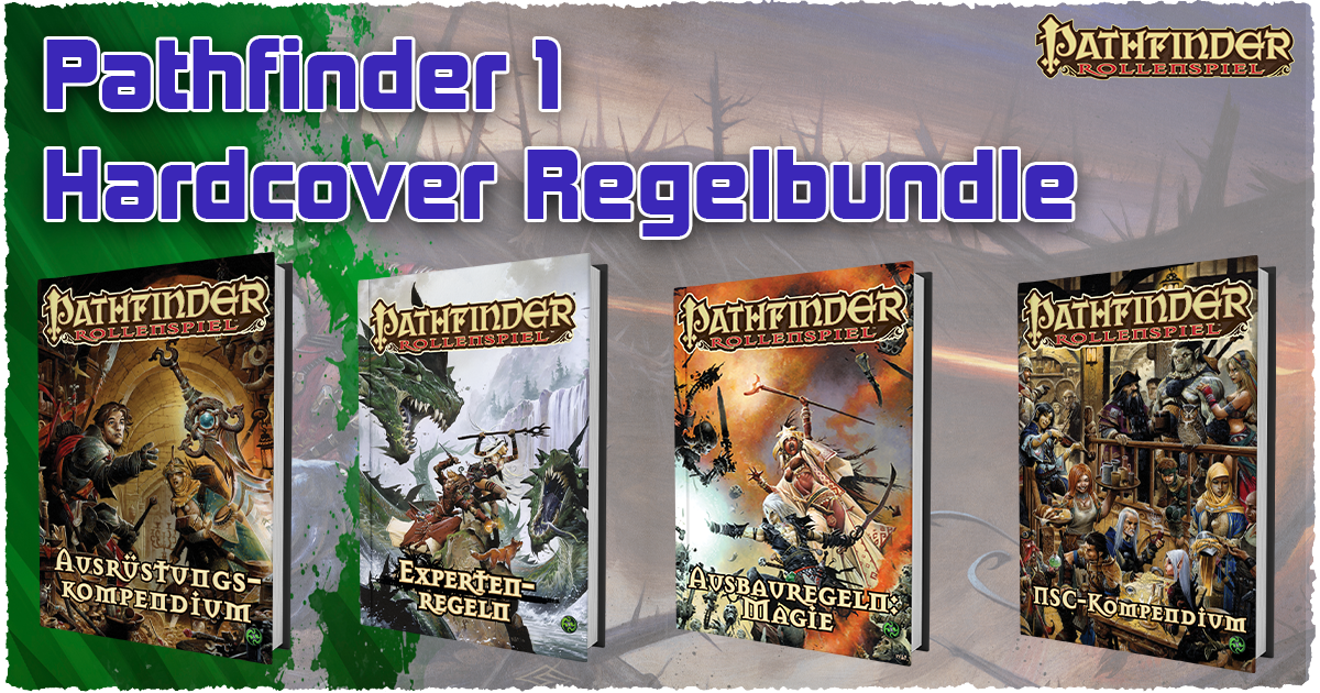 Pathfinder 1 – Hardcover Regelbundle