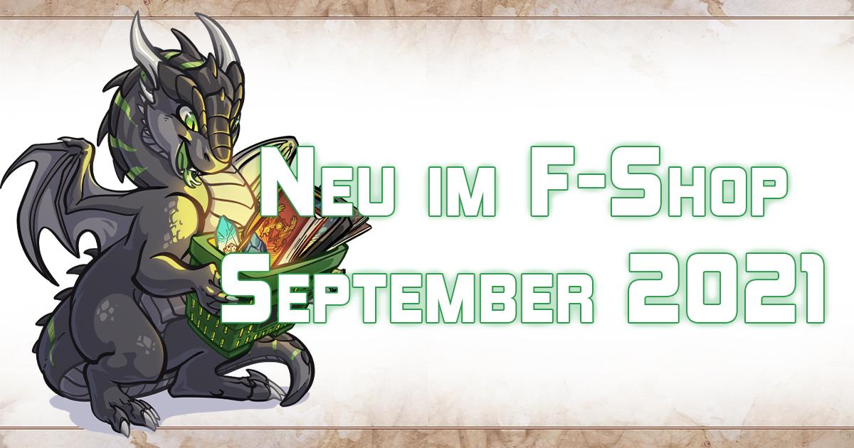 F-Shop-News: September 2021