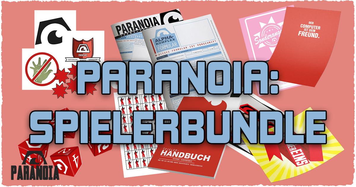 Paranoia: Spielerbundle