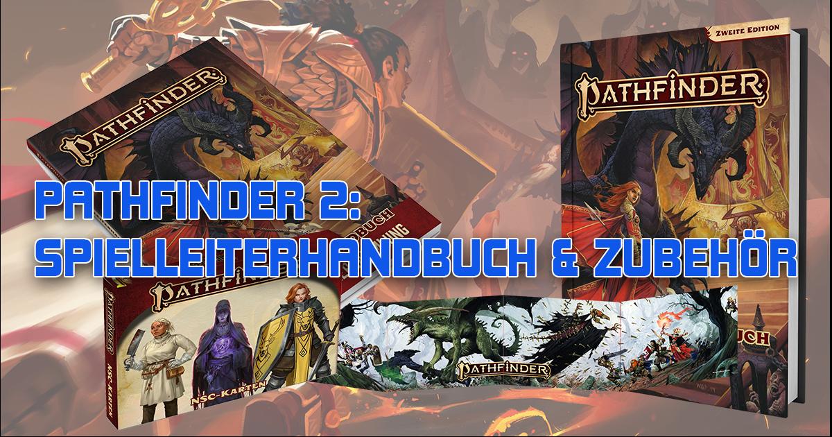 Pathfinder 2: Spielleiterhandbuch & Zubehör