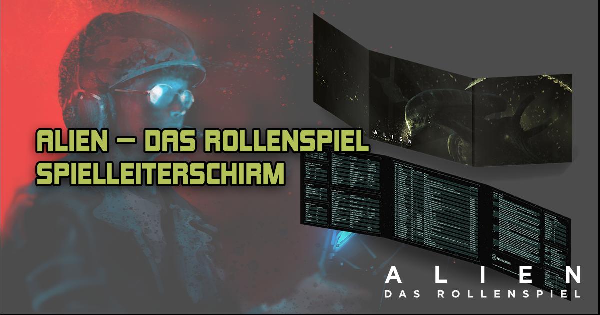 ALIEN — DAS ROLLENSPIEL: Spielleiterschirm