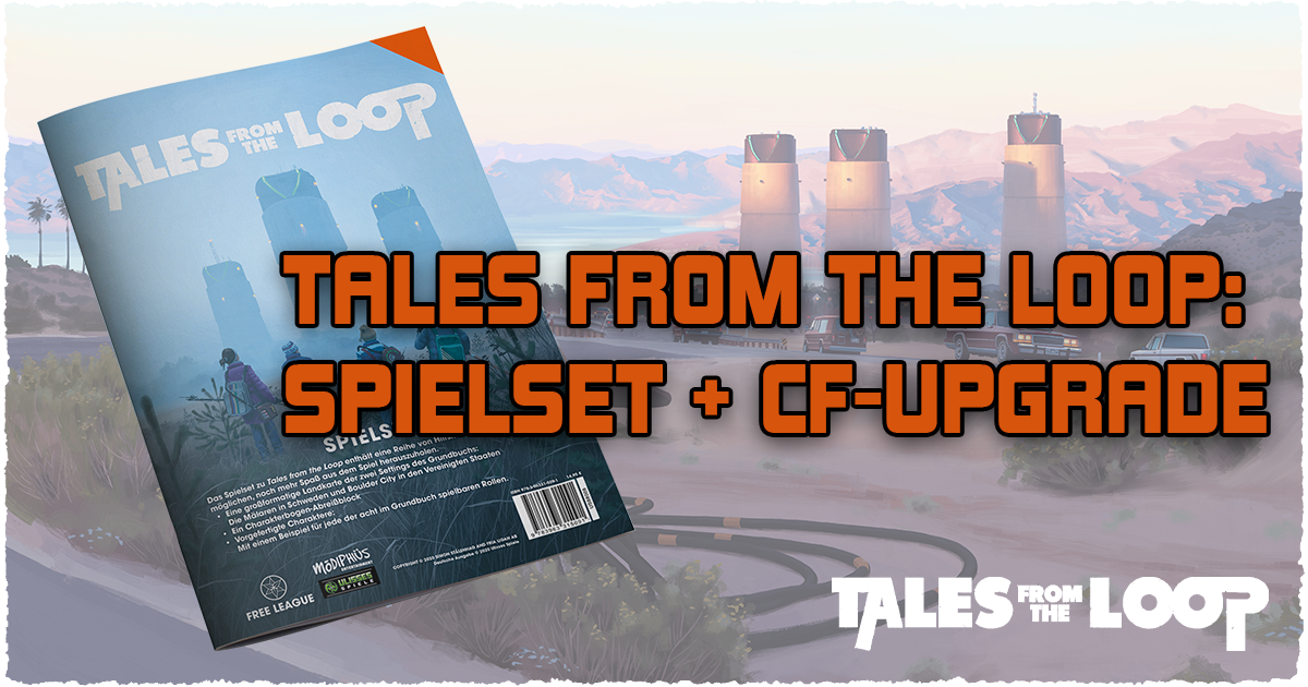 Tales from the Loop — Spielset & CF-Upgrade