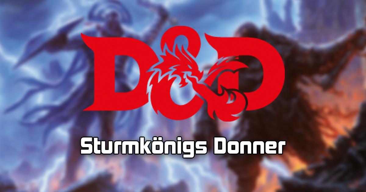 Dungeons & Dragons: Sturmkönigs Donner