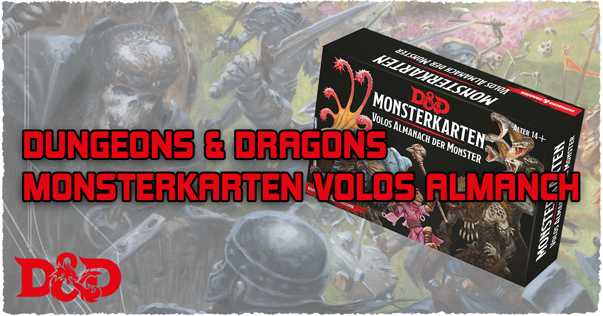 Dungeons & Dragons: Monsterkarten: Volos Almanach der Monster