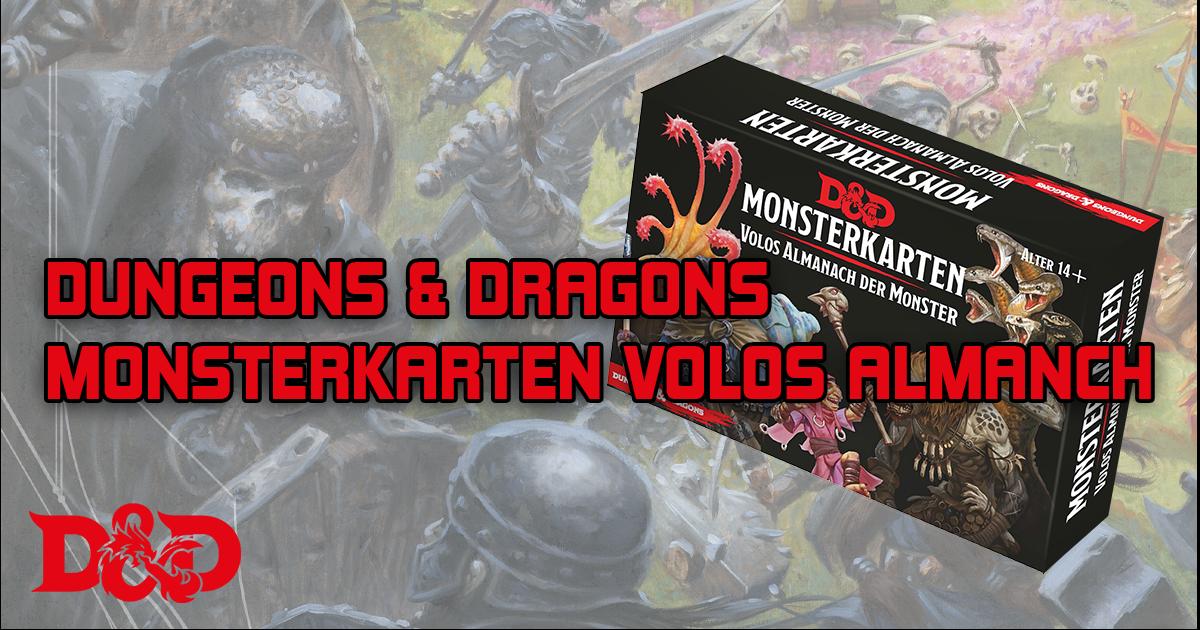 Dungeons & Dragons: Monsterkarten: Volos Almanach der Monster