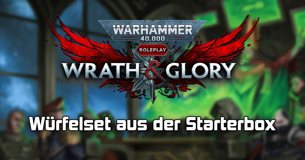 Wrath & Glory: Würfelset