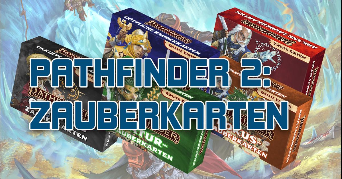 Pathfinder 2 — Zauberkarten