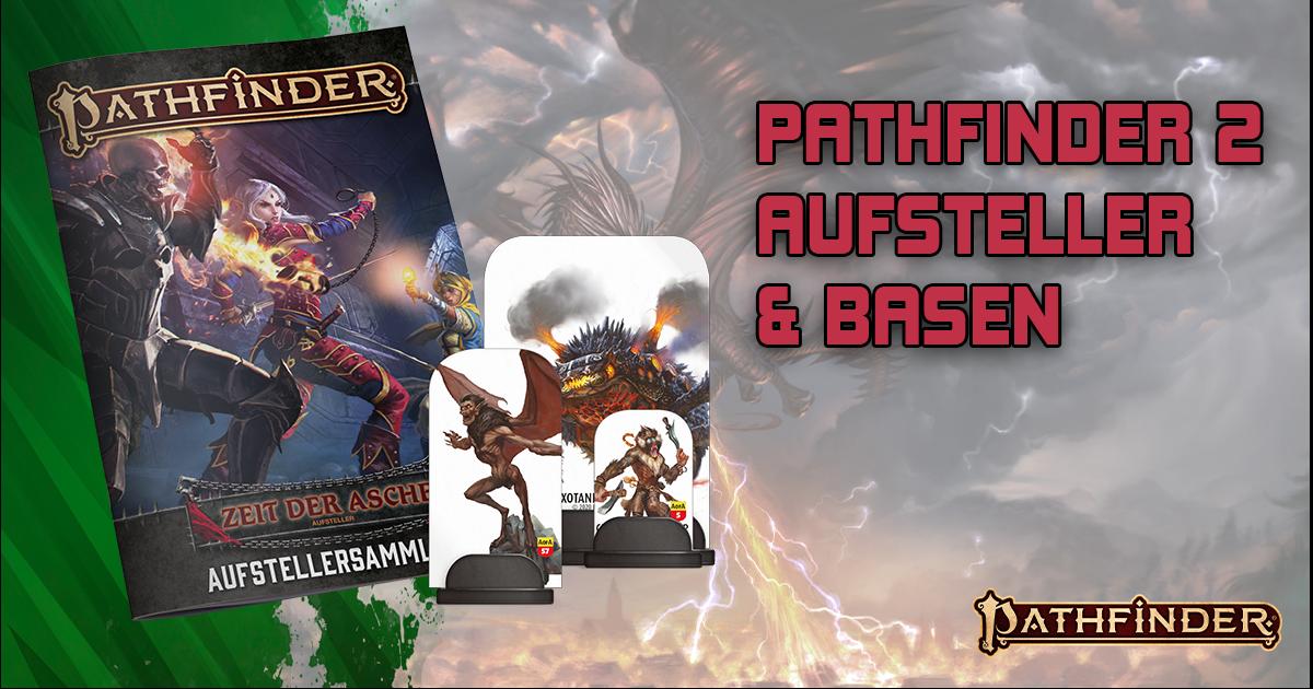 Pathfinder 2 — Aufsteller und Basen
